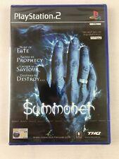 Summoner Original Black Label Sony PlayStation 2 Ps2 PAL
