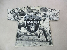 VINTAGE Oakland Raiders Shirt Adult Extra Large Football All Over Print Mens 90s