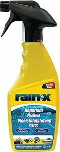Rain-X Plastic Water Repellent Spray 500ml For Motorbike Boat Visor