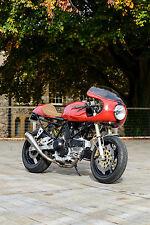 Cafe Racer/Flat Tracker construye. todas las marcas, Triumph, Ducati, Harley Xs, Asiento.