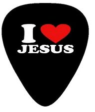 10 X I LOVE JESUS ~ GUITAR PICKS ~ PLECTRUMS