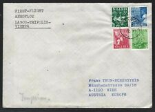 1970 Nigeria First Flight Cover - Aeroflot - Lagos-Tripolis-Vienna