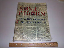 Rome Reborn: The Vatican Library and Renaissance Culture by Anthony Grafton
