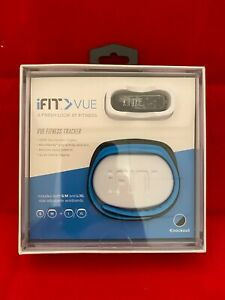 iFIT VUE FITNESS TRACKER WITH 2 BANDS BLACK/BLUE - USED