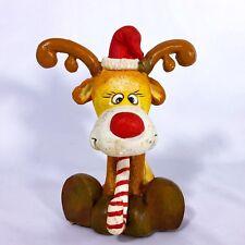 Reindeer Christmas Stocking Hanger Holder
