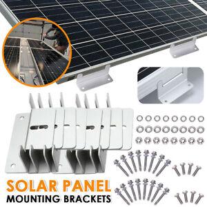 Solarmodul Befestigung Solarpanel Montage Solarpanel Alu Halterung Z Winkel