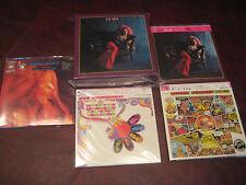 JANIS JOPLIN 4 LP Replica EXACT ORIGINALS JAPAN RARE 2007 OBI CD Sealed Box Set