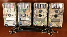 1904 Qty 4 Used Wildgame W5ED 5MP Micro Infrared Flash Camo Game Camera