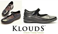 Klouds shoes - Orthotic friendly comfort leather strap dress work shoes - Briony