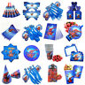 Spiderman Birthday Party Supplies Bags Tableware Plates Cups Decoration Balloon