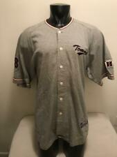 da03f92ad Vtg Tommy Hilfiger Athletics Spell Out Gray Baseball Jersey Mens size XL