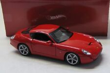 Ferrari 575 GTZ Zagato ( 2006 ) rot / Hot Wheels 1:18