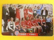 M09/2003 Auflage 2000 Stück Fussball FC Bayern Deutsche Meisterschaft 1980/1981