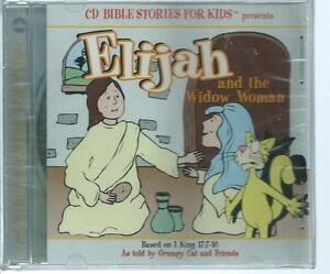 CD Bible Stories for Kids: Elijah & the Widow Woman