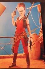 MICHONNE BOURRIAGUE AURRA SING STAR WARS I PHANTOM Autographed 8x10 Photo 15A