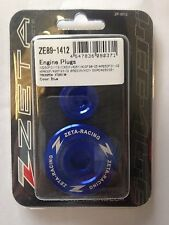 YAMAHA  WRF250  WRF 250  WR250F  2001-2002   ZETA ENGINE PLUGS BLUE