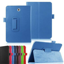 """Folio PU Leather Case Cover Stand For Samsung Galaxy Tab 3 4 Lite 7.0"""" 10.1"""""""