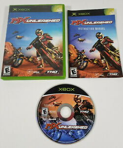 MX Unleashed (Microsoft Xbox, 2004) - Complete w/ Manual, Tested