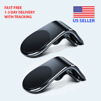 2 Pack Universal Car Air Vent Mount Holder For IPhone Samsung Phone GPS 360°