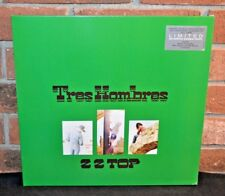 ZZ TOP - Tres Hombres, Limited JALAPENO GREEN VINYL LP Gatefold New & Sealed!