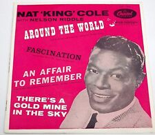 Nat King Cole - Around The World - EP 1958 - Capital EAP - 1- 813
