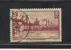 FRANCE - 344 - USED  - 1938 - PALACE OF THE POPES, AVIGNON