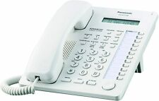 Panasonic KX-T7730CN White Hybrid System Corded Telephone, Slightly Used