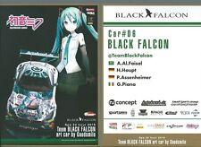 CARD SPA  24 HOURS 2019 : BLACK FALCON GOODSMILE AMG MERCEDES #06 - HATSUNE MIKU