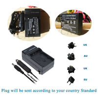 Battery + AC/DC Charger  NP-120 NP120 for Ordro HDV-D320, D325, D80S, P72, V88