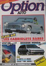 Option Auto magazine 08-09/1986 Issue 12