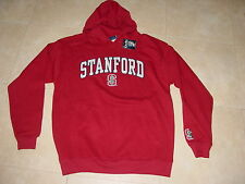 STANFORD CARDINALS EMBROIDERED  Hooded Sweatshirt NWT NEW .sz...  LARGE