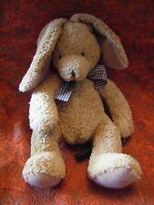 "RUSS BERRIE Carlton Lite Brown Rabbit made For Alveston Kitchens tags 17"" B142"