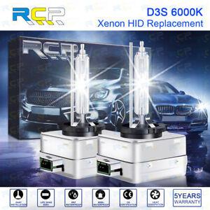 2 X D3S 6000K D3C D3R HID Xenon White Headlight Bulbs Replacement 2003 - 2014