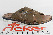 Rieker Men's Mules Slippers Clogs Braun New