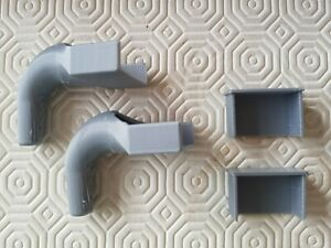 Greenhouse 32mm x 12mm Gutter Outlets & Blank End