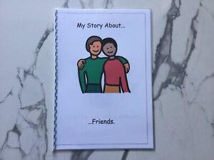 PECS/Boardmaker Friendship Social Story for Autism/ASD/SEN/ADHD/Aspergers