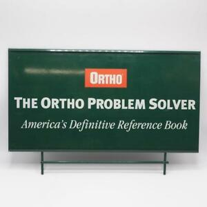 """Ortho Lawn Garden Products Metal Sign 12""""x18"""""""
