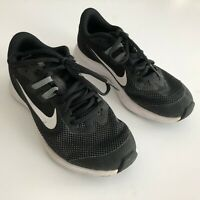 Nike Downshifter Youth Boys Size 3.5YW Black White Kids Running Shoes Wide Width