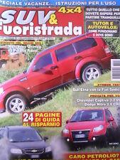 SUV & FUORISTRADA n°7-8 2008 Mercedes Unimog vs Polaris Razor  [P40]