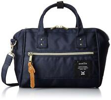 Anello Japan Small 2way Shoulder Bag Carry Case Navy AT-H0851