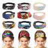 Women Girls Yoga Sports Headbands Elastic Wide Hair Band Head Wrap Wristband