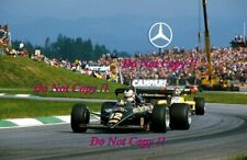 Nigel Mansell JPS Lotus 95T Austrian Grand Prix 1984 Photograph 1