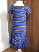 Ralph Lauren Sommer Kleid Rüschen 128/134/140 Gr. 8-10 Jahre Neu