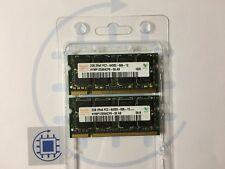 4GB (2x 2GB ) DDR2 PC2 6400S 666 800MHz Hynix Laptop RAM Arbeitsspeicher