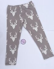 NEW Designer Stag fabric Boys/Girls Leggings Age 4 Years