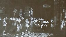 """""""Ball at Court of Alfred & Isabel"""" by Franken & Purba, Magic Lantern Glass Slide"""