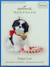 Puppy Love Eighteenth 18 in the Series Hallmark Keepsake Christmas Ornament 2008