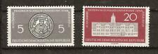 EAST GERMANY # 399-400 MNH F. SCHILLER UNIVERSITY