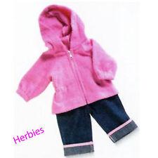 Lee Middleton Pink Jacket & Jean, Fits  Nursery, Cuddle Babies & 19-inch Dolls