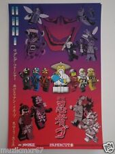 SDCC Comic Con 2013 EXCLUSIVE LEGO / Papercutz Ninja Go poster